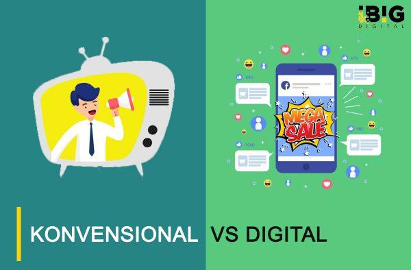 Media Pemasaran Kovensional VS Digital, Mana yang Paling Efektif?