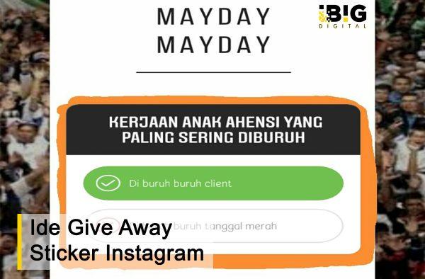 Ide Kreatif Buat Give Away dengan Fitur Stiker Kuis Instagram 2019