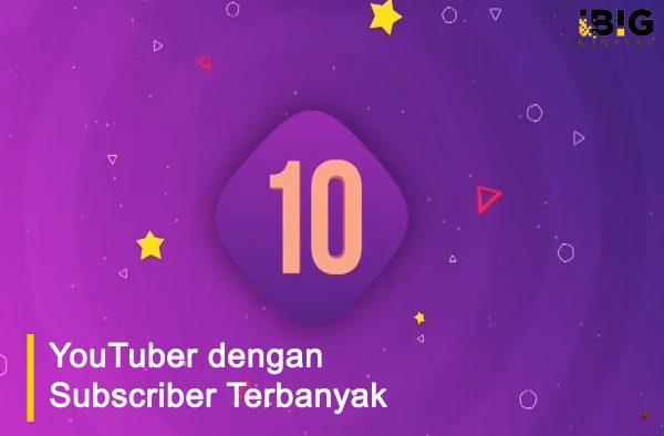 10 Daftar Youtuber dengan Subscriber terbanyak di Indonesia
