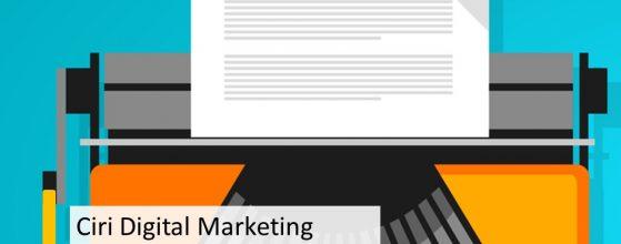 Ciri Digital Marketing Agency Terbaik di Jakarta Untuk Konten