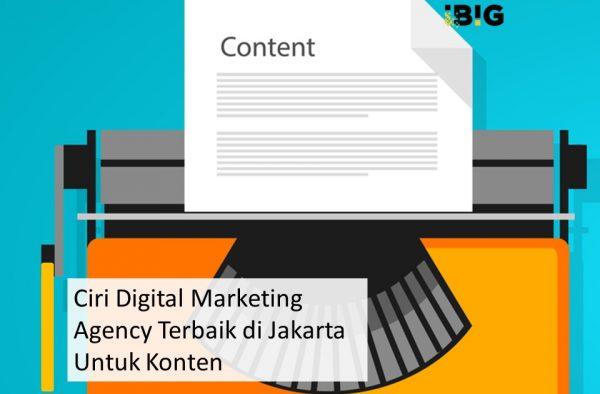 5 Ciri Digital Marketing Agency Terbaik di Jakarta Untuk Konten