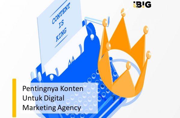 Pentingnya Konten Untuk Digital Marketing Agency