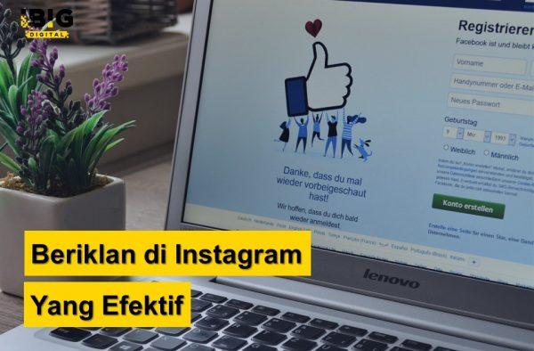 Beriklan Di Instagram yang Efektif dan Tidak Mahal